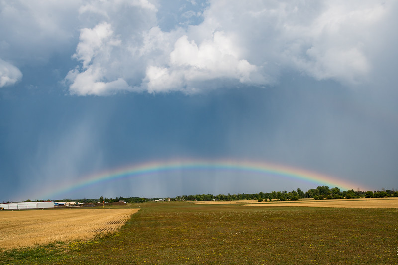 Rainbow Over Stoney Creek Airport