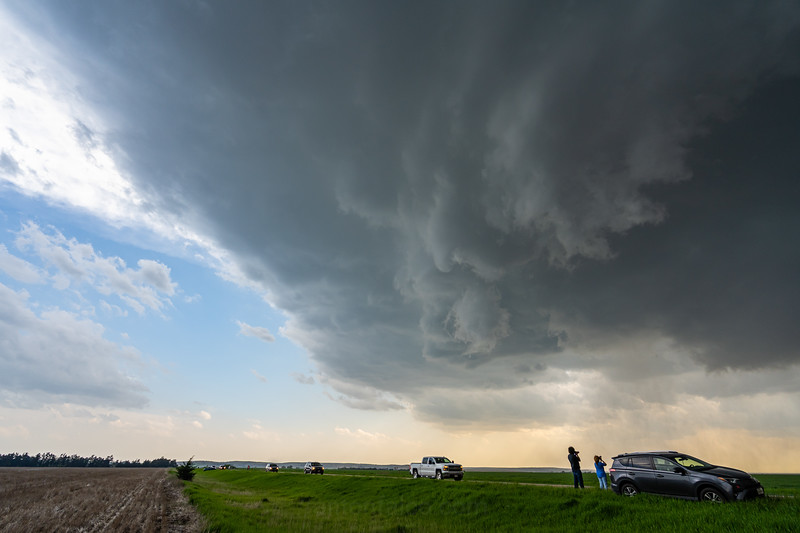 Tornado Warned Supercell