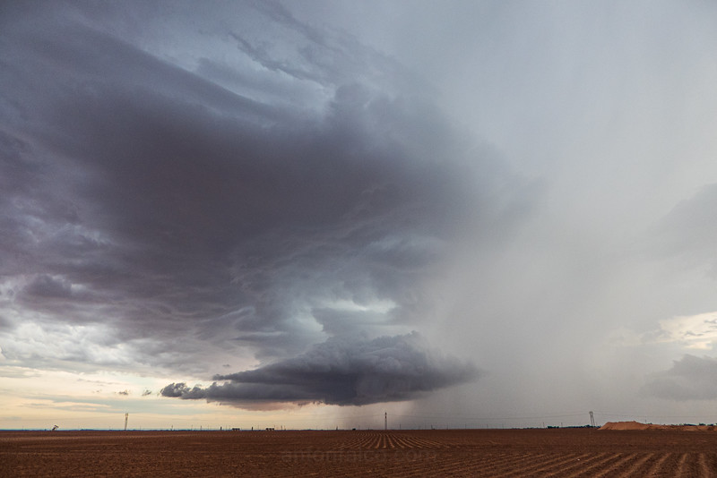 Dying Texas Supercell