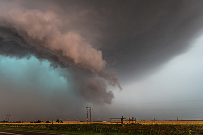 Ground Scraping Tornado Warned Supercell