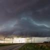 A UFO- Like Storm