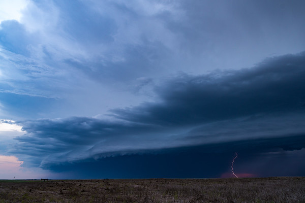 Lightning And Shelf Cloud