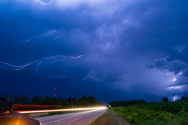 Port Dover, Ontario Lightning Show