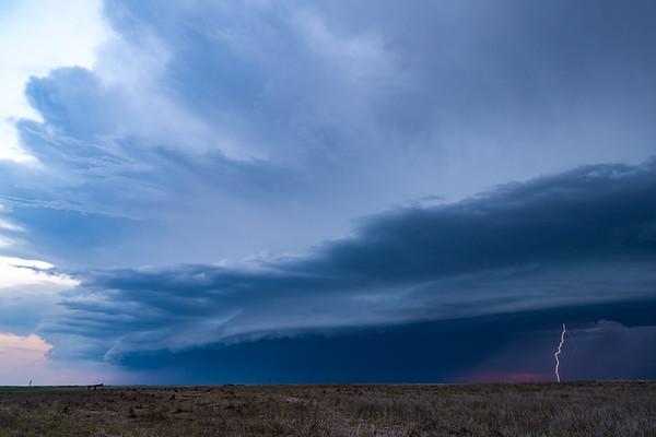 WaKeeney Shelf Cloud