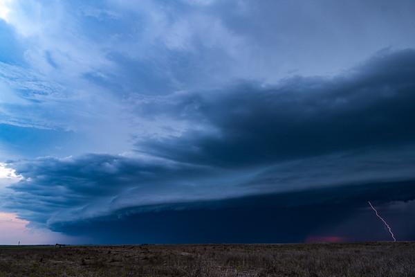 Lightning And Shelf Cloud