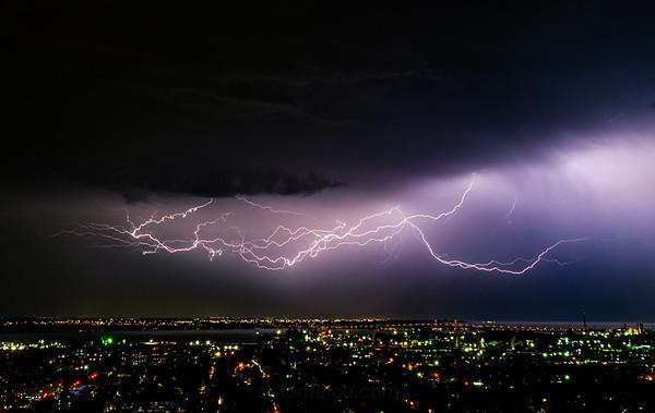 Lightning Over Hamilton