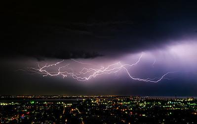 Big Lightning. Hamilton, Ontario, Canada