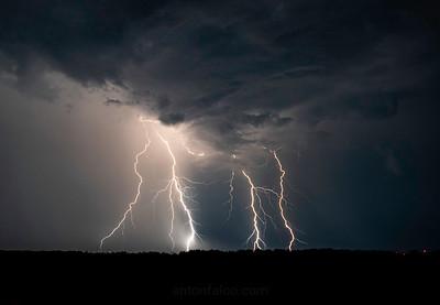 Lightning Over Niagara