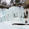Frozen Tiffany Falls