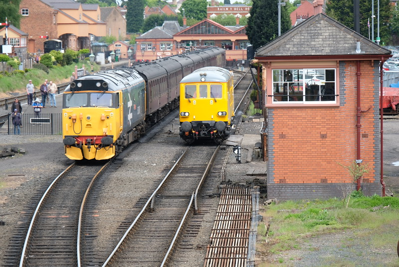Kidderminster Station at Severn Valley Diesel Gala 2016