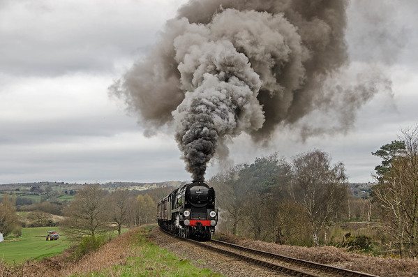 Severn Valley Railway - Monday 18th April 2016