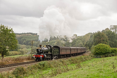 7812 'Erlestoke Manor' at Severn Lodge