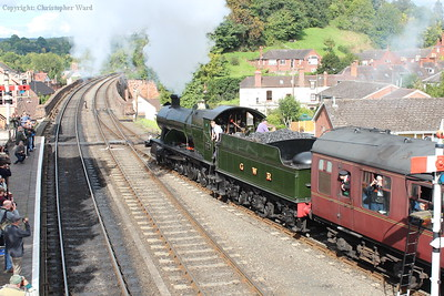 2857 gets away from Bewdley