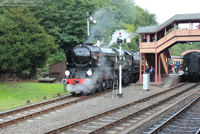 Taw Valley waits for the off at Bewdley