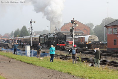 70000 gets away from the fog of Kidderminster