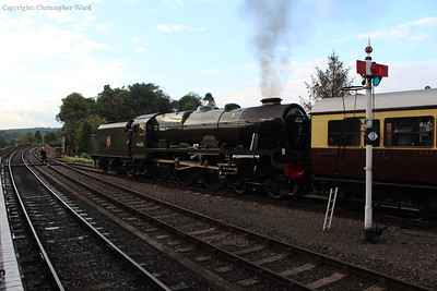 46100 gets away from Bewdley