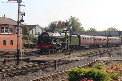 Royal Scot runs into Kidderminster