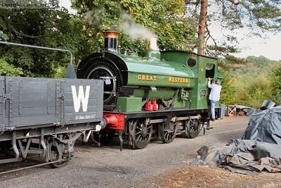 813 draws into the short siding
