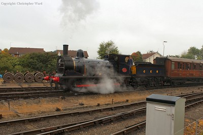 The Y14 fusses into Kidderminster