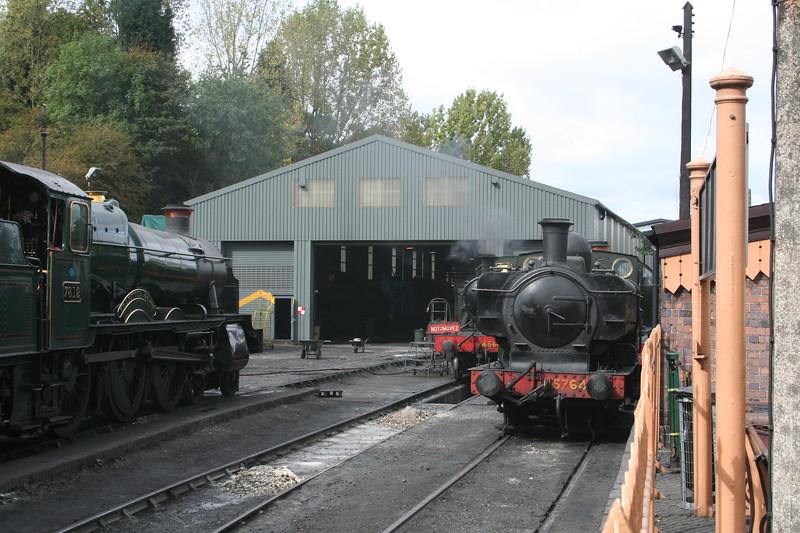 Bridgnorth depot circa 2008.