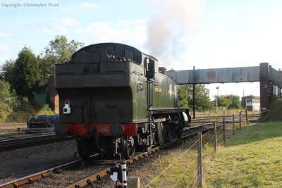 The Large Prairie shunts at Kidderminster