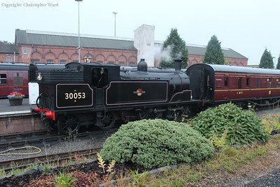 The M7 having arrived with an evening train into Kidderminster