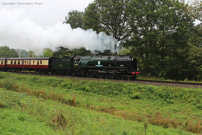 Sir Keith Park passes the Engine House