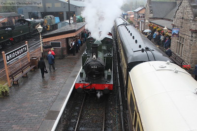 1450 prepares to leave with the autotrain
