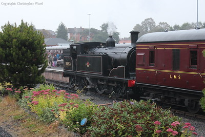 30053 rests after her run