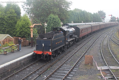 88 rolls in with the second train of the day from Kidderminster