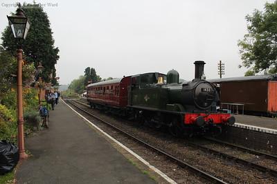 The classic GWR branch line scene