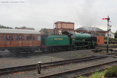 925 sets off for Bridgnorth