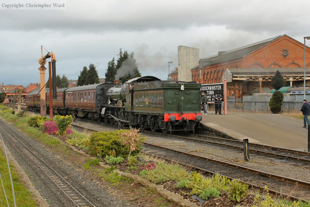 7802 takes a local working to Bewdley