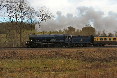 The King stretching her legs away from her Didcot home