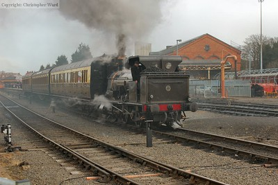 Bellerophon on the local working at Kidderminster
