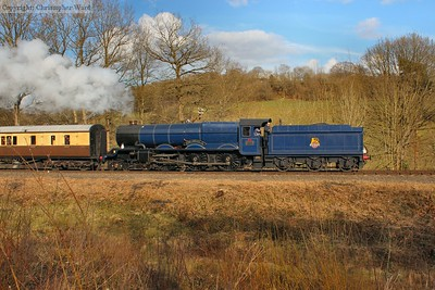 The blue King takes the GWR set south
