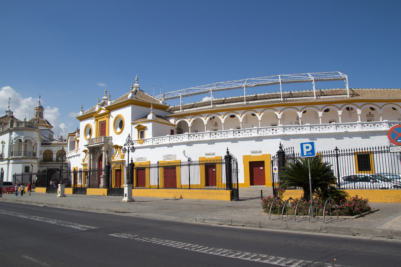 The Bull Ring in Seville, Spain on May 14, 2013.