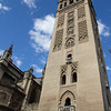 The Giralda (Bell Tower) of the Cathedral of Seville.