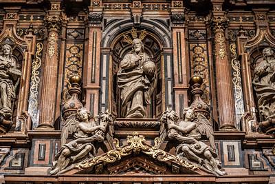 La capilla de la Virgen de la Antigua, Seville Cathedral