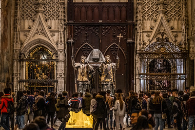 The Tomb of Christopher Columbus , Seville Cathedral