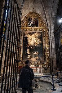 """""""The Vision of St. Anthony""""   Seville Cathedral"""