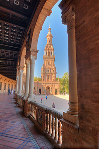 Arch Plaza de Espana