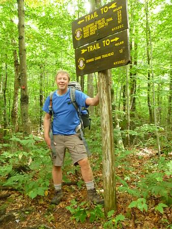 Sewards Range and Seymour Mt. Backpack
