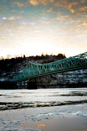 Sewickley Bridge Winter