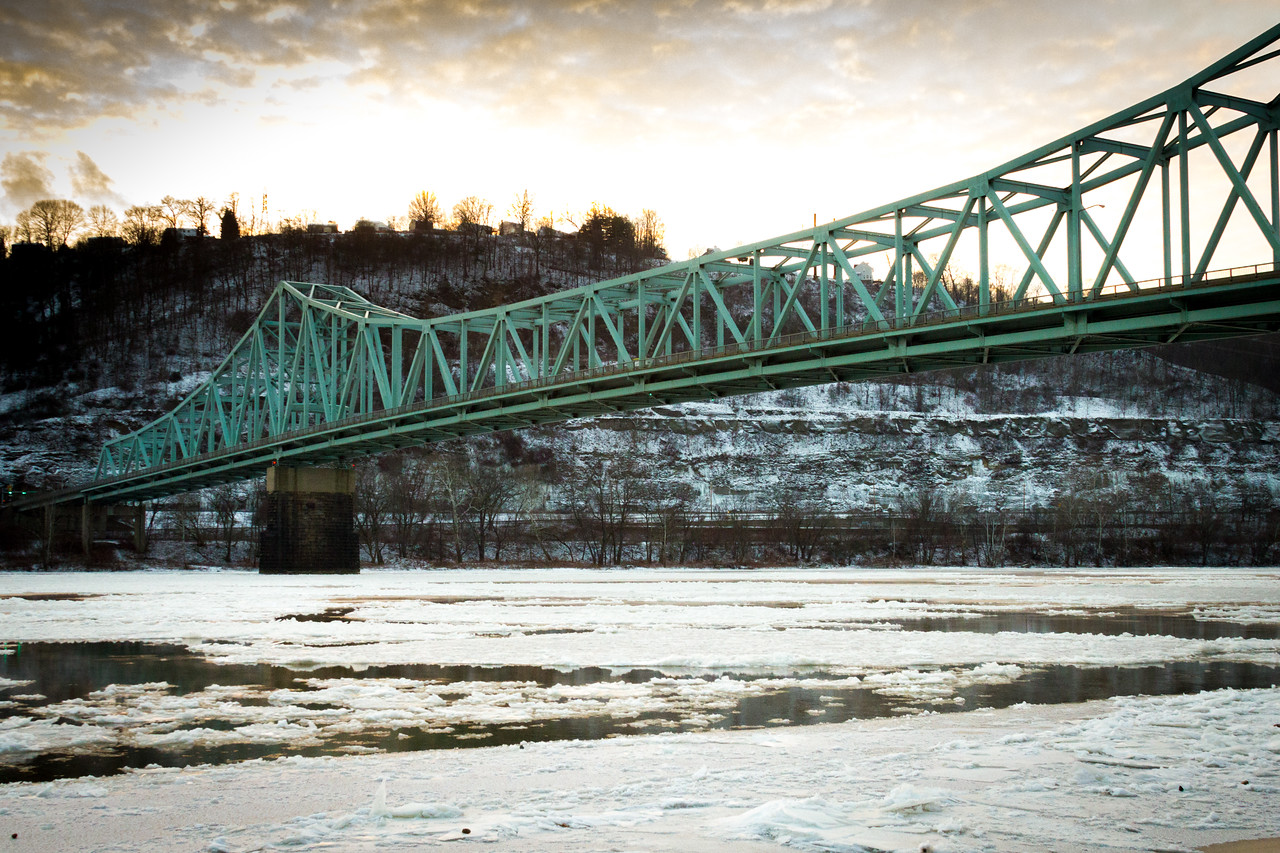 Sewickley Bridge Winter II