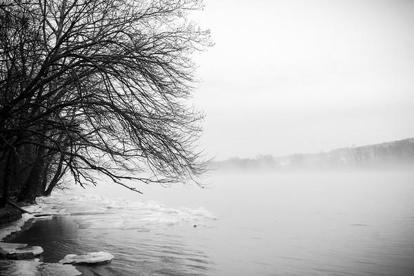 Winter on the Ohio River