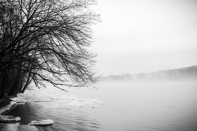 Winter on the Ohio River