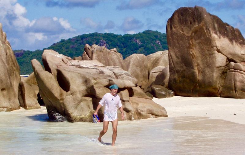 ostrov La Digue - Patatran Beach and Hotel