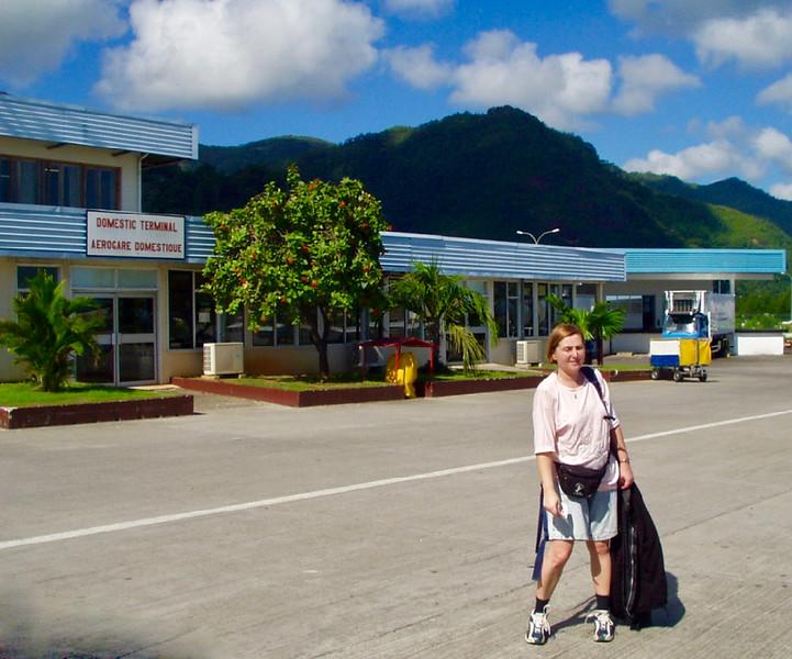 ostrov Mahé - Seychelles Airport