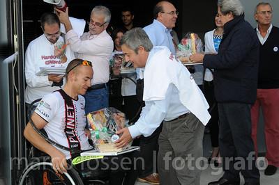 2° Gran Premio Monza di Handbike Premiazioni